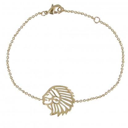 Bracelet Indien Plaqué Or