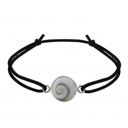 Bracelet Lien Elastique Oeil de Ste Lucie Rond