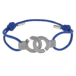 Bracelet Lien Argent Menottes - Colors