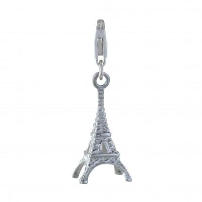 Charms Argent 925 - Tour Eiffel Argent