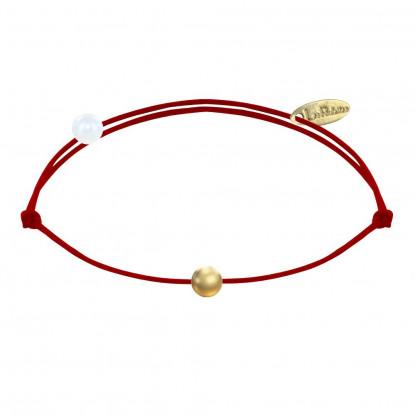 Bracelet Lien Petite Perle Plaqué Or - Classics