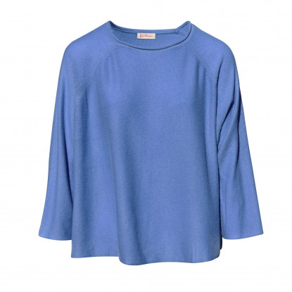 Pull en Cachemire Ample Col Rond