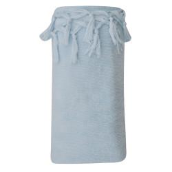 Fouta Drap Plage et Hammam Coton Eponge Couleur Bleu Ciel