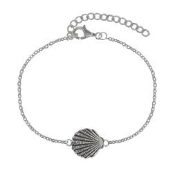 Bracelet Argent Coquille St Jacques