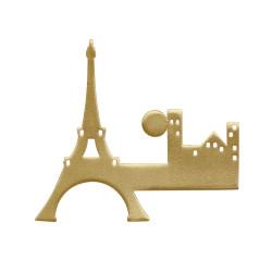 Broche Laiton Paris