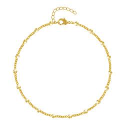 Bracelet Plaqué Or et Petites Billes