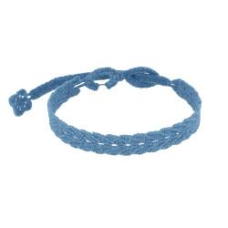 Cruciani Bracelet Homme Dentelle Prospérité Bleu Acier